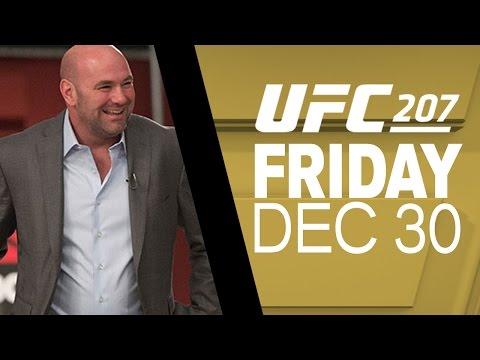 UFC 207: Dana White Media Day Scrum