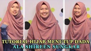 Tutorial Hijab Menutup Dada Ala Shireen Sungkar, Tampil Pede dengan Jilbab Syari yang Tetap Kece