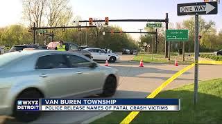Police release names of 3 killed in Van Buren Township car crash