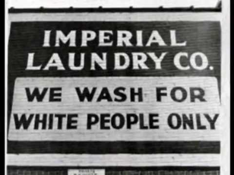 Segregation In The Southern Usa Jim Crow Laws Period Photos Youtube