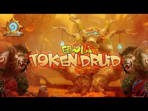 Hearthstone - Тестим колоду Друида (Ebola Token Druid)