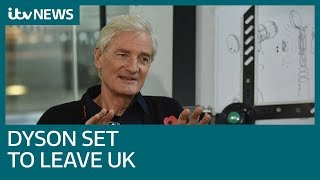 Brexit backer James Dyson ditches Britain for Singapore in HQ move  ITV News