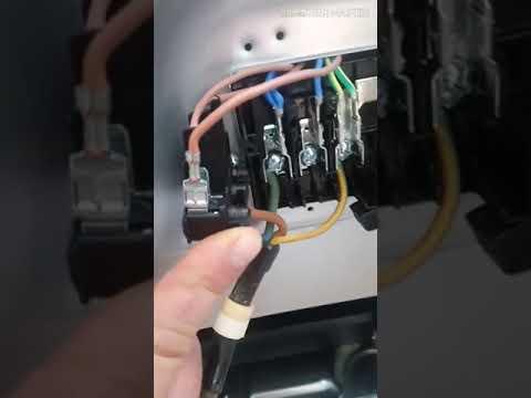 Подключение плиты индезит IS5V5PMW/RU (220вольт)