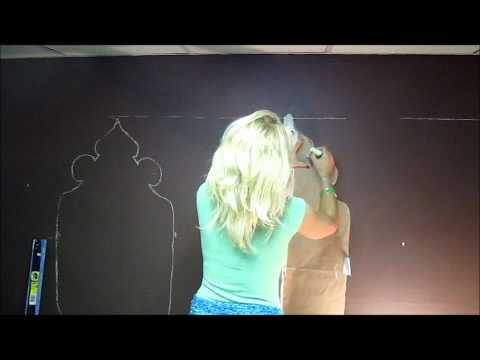 How To Create A Moroccan Style Stencil-retro Room Makeover Part 5