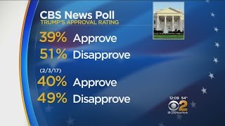 New Poll On Trump's Approval Rating