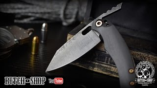 Hand Made Friction Folder - Canivete artesanal (Butch Cassidy Custom Knives)