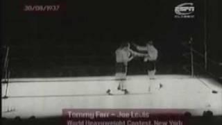 Joe Louis vs Tommy Farr - Part 3 of 3 (Title fight)
