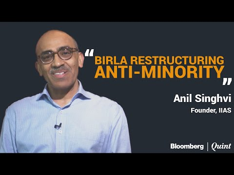 Singhvi vs Birla Group Restructuring