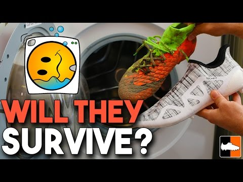 Boots in Washing Machine! - Nike Hypervenom 3 & adidas Glitch Cleats