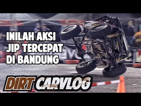 JAGOAN TUMBANG DI PERTARUNGAN FINAL | SUPER ADVENTURE MONSTER ROAD BANDUNG | DIRT CARVLOG #60