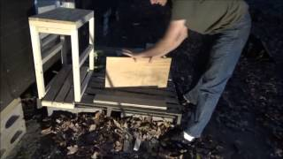 Making The First Kitchen Cabinet In My Tiny House N7