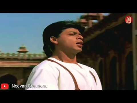 Do Dil Mil Rahe Hai 💑 Shahrukh Khan 😘 King of Romance ❤ old songs king Kumar Sanu ❣whatsapp status