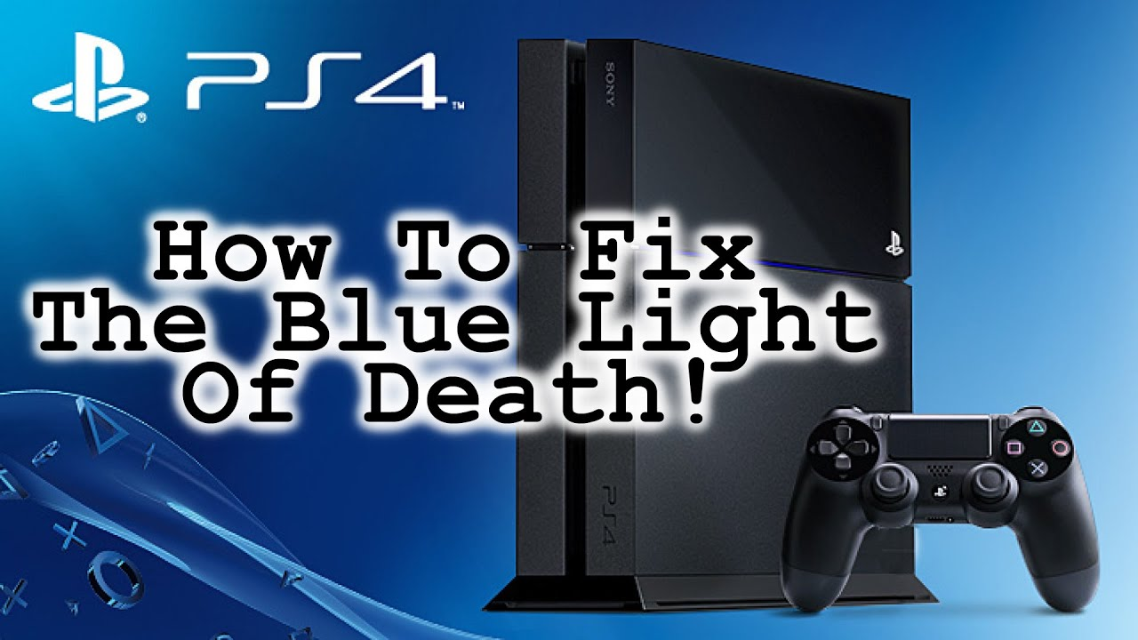 How To Fix An Overheated PlayStation 4! [ Fix The Blue Light Of Death In  Two Minutes ]