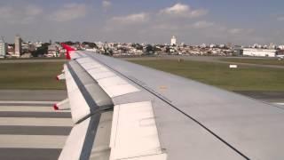 Avianca A319 | Ponte Aérea - Decolagem completa em Congonhas