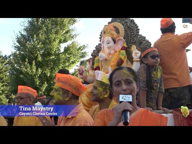 Gayatri Chetna Center Hosts Visarjan Ceremony - 2019 Ganesh Utsav - Piscataway