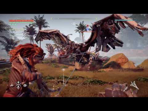 Horizon Zero Dawn : Downing a Stormbird