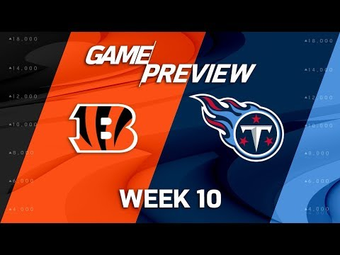 Cincinnati Bengals vs. Tennessee Titans | NFL Week 10 Game Preview | Move the Sticks