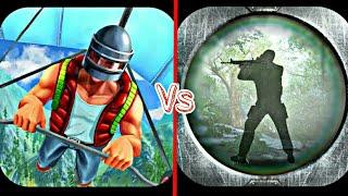 BATTLE ROYAL 3D VS ROYALE BATTLE SURVIVOR GAME COMPARISON | GAMES LIKE PUBG