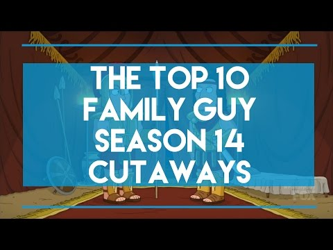 The Top 10 Family Guy Season 14 Cutaways