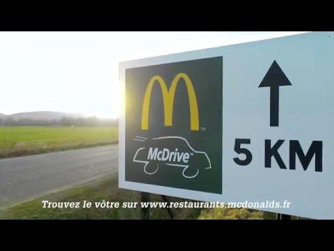 McDonald's Panneau directionnel #McDriveKing