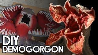 DIY Stranger Things Demogorgon Monster - Backyard FX