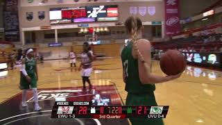 Highlights of Eastern Women's Basketball vs. Utah Valley (Nov. 25, 2017).