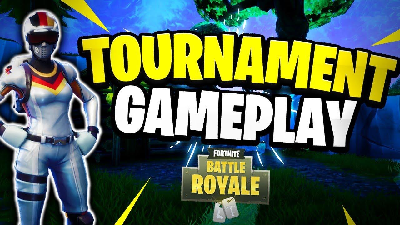 Tournament Highlight #1 (Fortnite Battle Royale) - YouTube