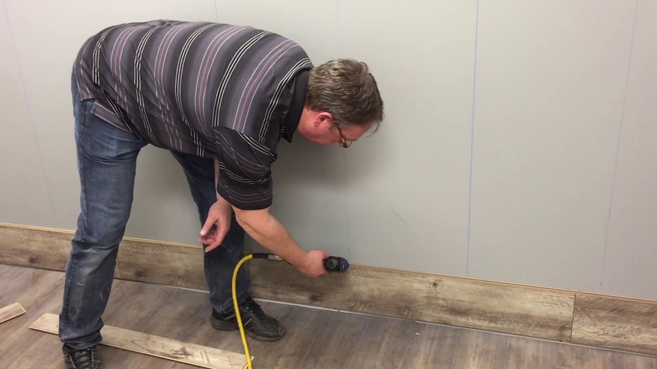 Laminate Flooring Wall Installation