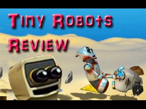 Filly FIlm Reviews: Tiny Robots