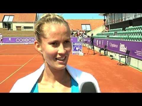 Mathilde Johansson back in Båstad