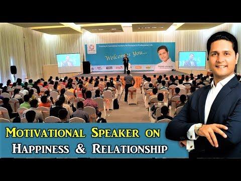 Motivational Speaker in Hindi in India -Best on Relationship & Parenting Tips | Parikshit Jobanputra