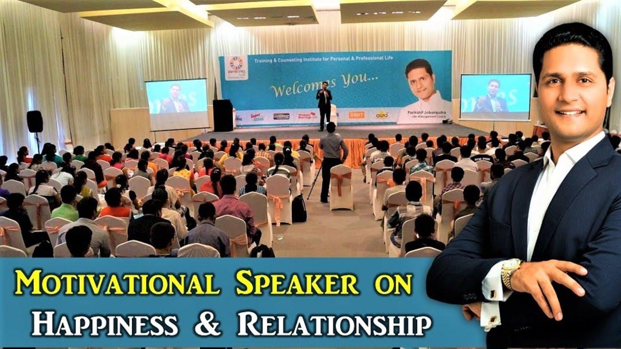 Motivational Speaker in Hindi in India -Best on Relationship & Parenting Tips   Parikshit Jobanputra