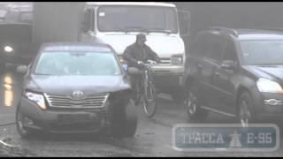 Одесса, ДТП на Водопроводной(, 2014-02-10T11:42:55.000Z)