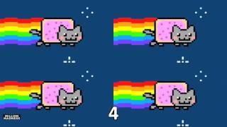 Nyan Cat - Played 1,048,576 Times