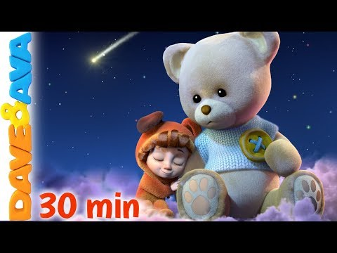 💤Lullabies and Nursery Rhymes   Baby Songs   Dave and Ava 💤