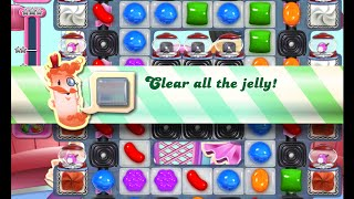 Candy Crush Saga Level 1458 walkthrough (no boosters)