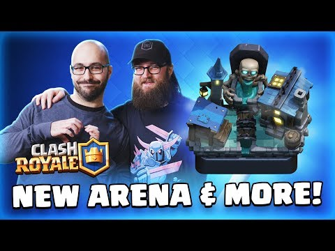 Clash Royale: NEW CARD! 🔥 NEW ARENA! 💀 January Update & February Content! TV Royale