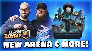 Gambar cover Clash Royale: NEW CARD! 🔥 NEW ARENA! 💀 January Update & February Content! TV Royale