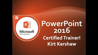 Microsoft PowerPoint 2016: SmartArt Including Organization, Process and Structure Charts