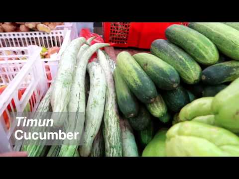 Guide to Fruits and Vegetables at Chow Kit Market | MALAYSIA TRAVEL & LIVING VLOG