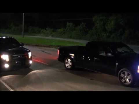 Ford F150 Vs Chevy Silverado Drag Race >> 2012 Ford F150 VS GMC Sierra   Doovi
