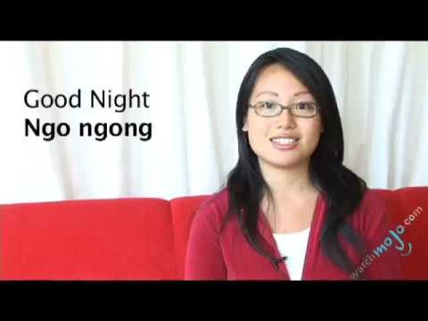 Vietnamese Translations How To Say Good Night Youtube