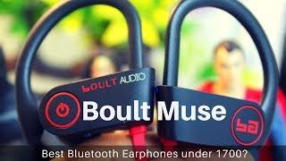Boult Muse Bluetooth Waterproof Earphones Review | Unboxing - Geekman