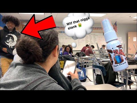 Westbury High School Liquid Ass Prank ( I got suspended)