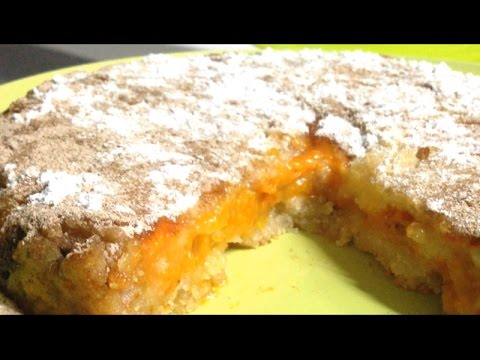 Самый быстрый пирог. Вкуснейший насыпной пирог с абрикосами.Выпечка в Princess.