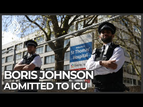 UK PM in intensive care, Europe virus cases slow