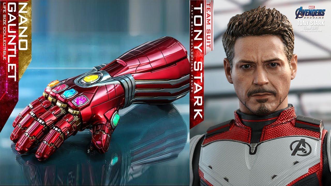 hottoys吧_PREVIEW Hot Toys Tony Stark traje do reino Quântico e réplica 1:1 da Manopla / Toys ...