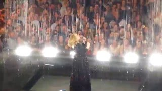 Adele - Someone Like You / Set Fire to the Rain - live @ Hallenstadion, Zurich 17.5.2016