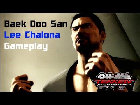 Tekken Tag Tournament 2:Baek Doo San/Lee Chaolan Gameplay