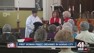 First woman priest ordained in Kansas City